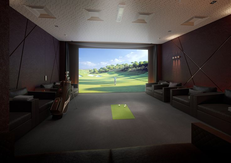 ZŁOTA 44 Golf simulator #Złota44 #Warsaw #golf #cinema #citycenter
