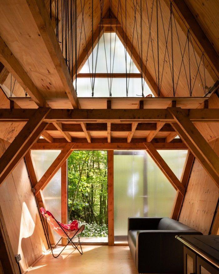 Invisible Studio Creates 20 K Self Build House Kit Self Build House Kits Attic Design Self Build Houses