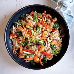 chrome hearts los angeles rodney king riots videos The more color  the better flavor  right  Chili Garlic Shrimp and Noodle Stir Fry makes a healthy and delicious weeknight dinner