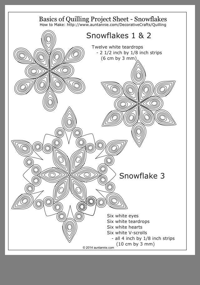 quilling snowflake template  Looks like fun | Quilling designs, Quilling jewelry, Paper ...