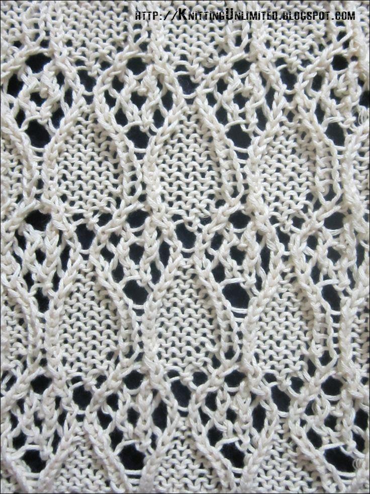 Lace Knitting Pattern 13