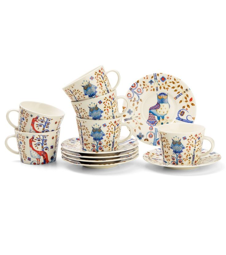 Iittala Taika white coffee set