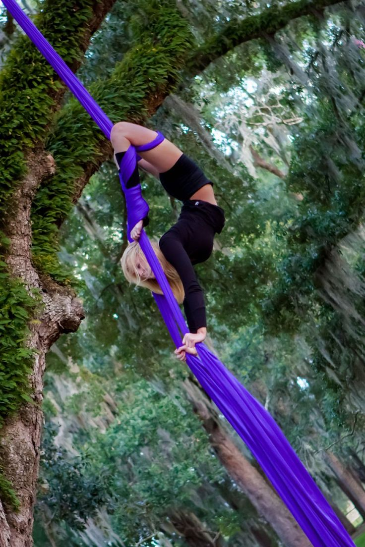 Aerial in nature  Repinned from Aerial Elements - Aerial Silks