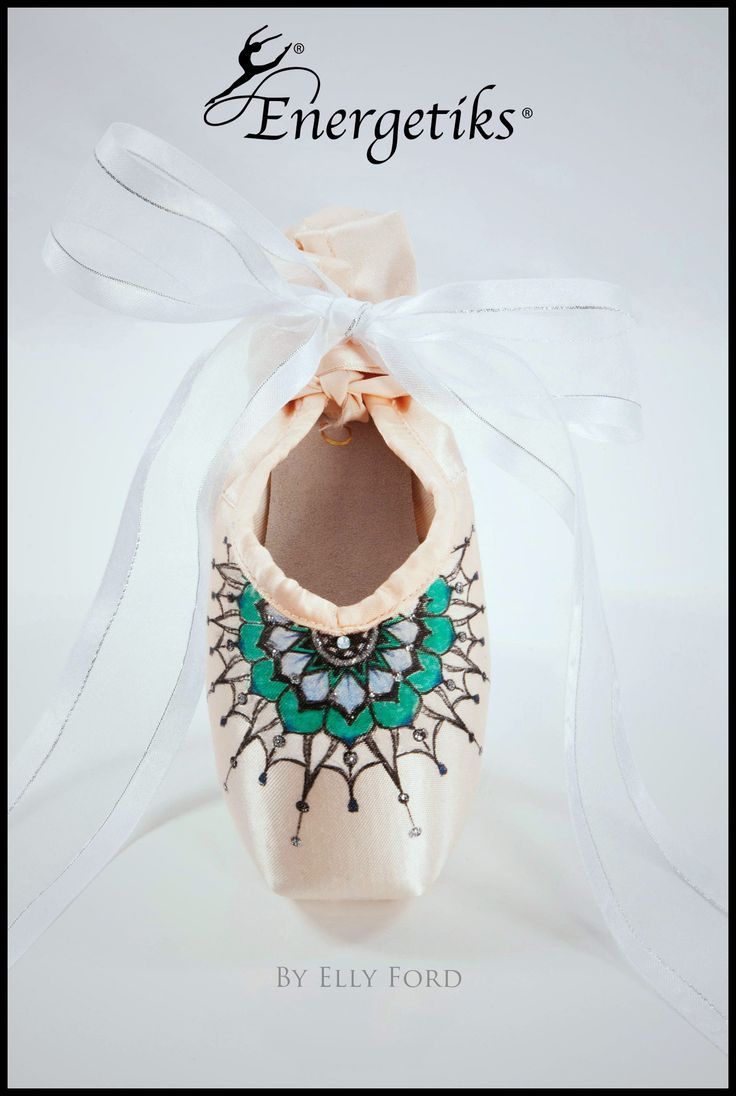 Energetiks Collector Pointe Shoes by Elly Ford | Energetiks