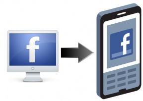 Facebook Desktop Shifts To Mobile