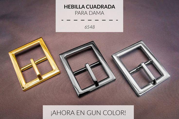 Completamos los tres acabados: Oro, Nickel y Gun Color! Acabados imprescindibles para los mejores herrajes. Visítanos en: www.abcherrajes.com #ABCHerrajes #Barrete #Hebilla #Cinturon #Belt #MetalFitting #LeatherGoods #Ornaments #Cuero #fashion #fashionista #Marroquineria #Moda #Designs #artwork #irondesign #gold #Guncolor #Adornos #Elegancia #Lujo #Trimmings #lifestyle #Diseño #Estilo #Styling #womensfashion #loveit #Colorful #beautiful #art #love #perfect #Nicelook #Nice #likeforlike…