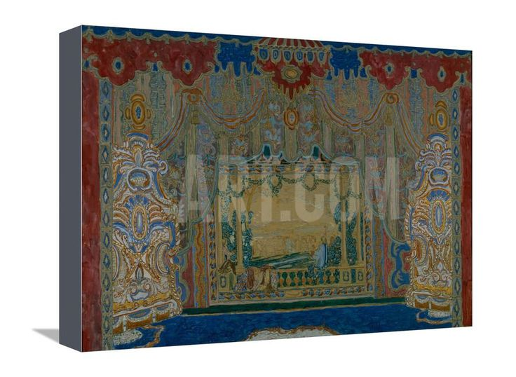 Stage Design for the Theatre Play Don Juan by Moliére, 1910 Giclee Print by Alexander Yakovlevich Golovin at Art.com
