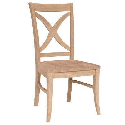 Unfinished Furniture Outlet,Sanford NC Vineyard Chair - Solid Wood Vineyard  Dining Chair Our Vineyard Chair has a handsome transitional look and boasts  a ...