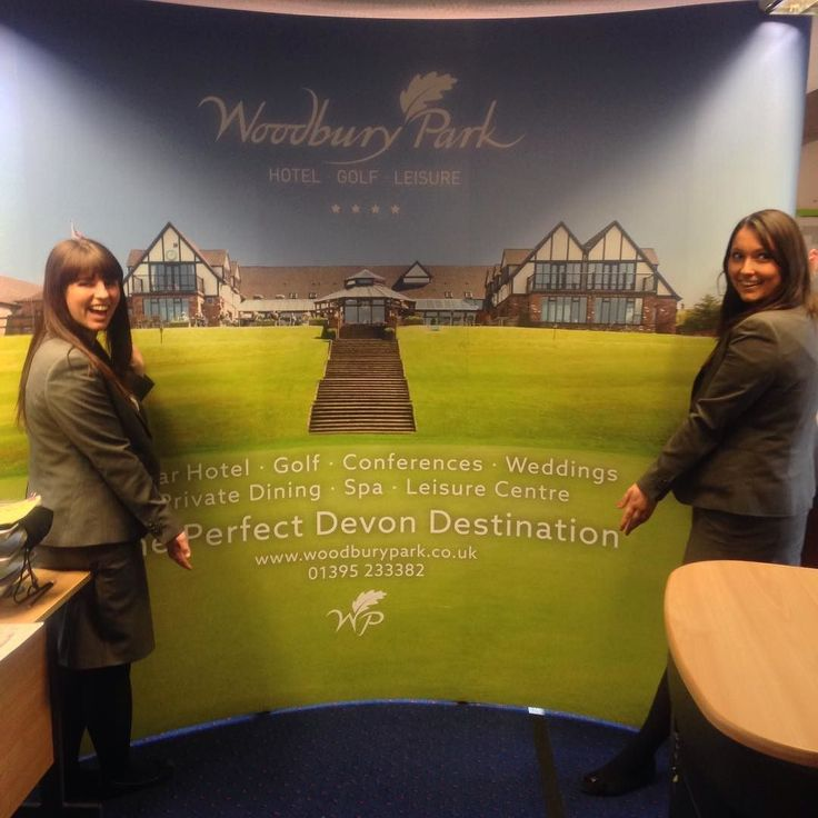 The sales team are very excited about the arrival of our new graphic ready for the Devon Business Expo! Thanks to Steve at Missing Man Media! #graphic #Devon #business #expo #exhibition #devonbusinessexpo #golf #leisure #hotel #events #sales #weddings #dbexpo #conferences #spa #privatedining #woodburypark