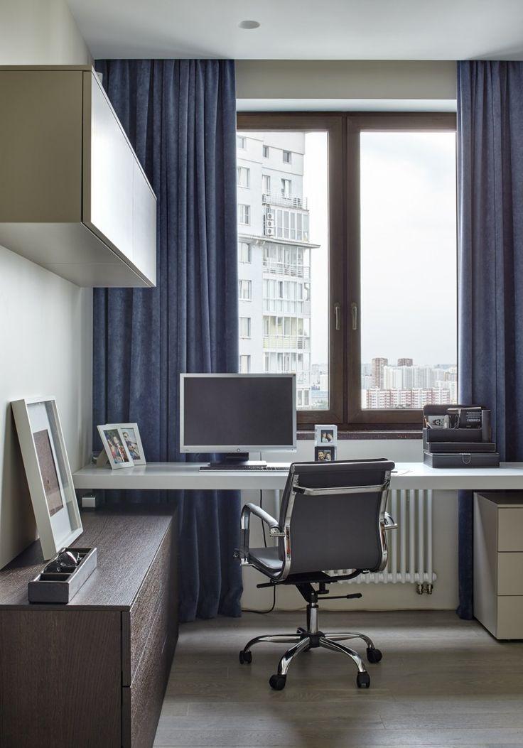 Home office decoration by Alexandra Fedorova