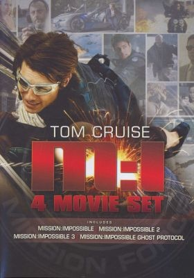 DVD Boxed Set: Tom Cruise: Mission Impossible Quadrilogy - Mission Impossible 1 / 2 / 3 / 4: Ghost Protocol #gifts #holidays #christmas