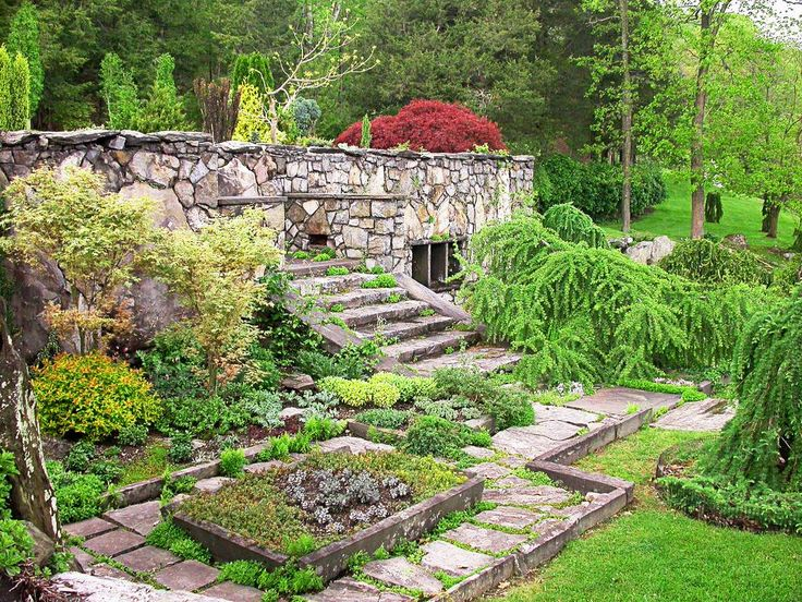 Innisfree Garden, a beautiful Japanese style garden available for tours. Located in the Hudson Valley of New York, Millbrook, Dutchess County