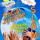 A Smartboard Reading Response unit using all social justice texts.  Uses the SLAM strategy (three part response).  Excellent way to prepare students for standardized tests like EQAO ... but with rich texts!
