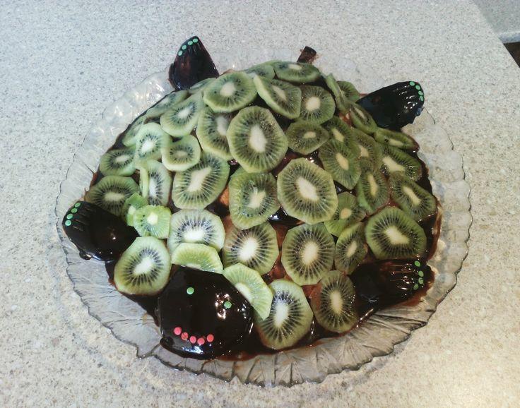 Торт Черепаха. Изумрудная Черепаха.