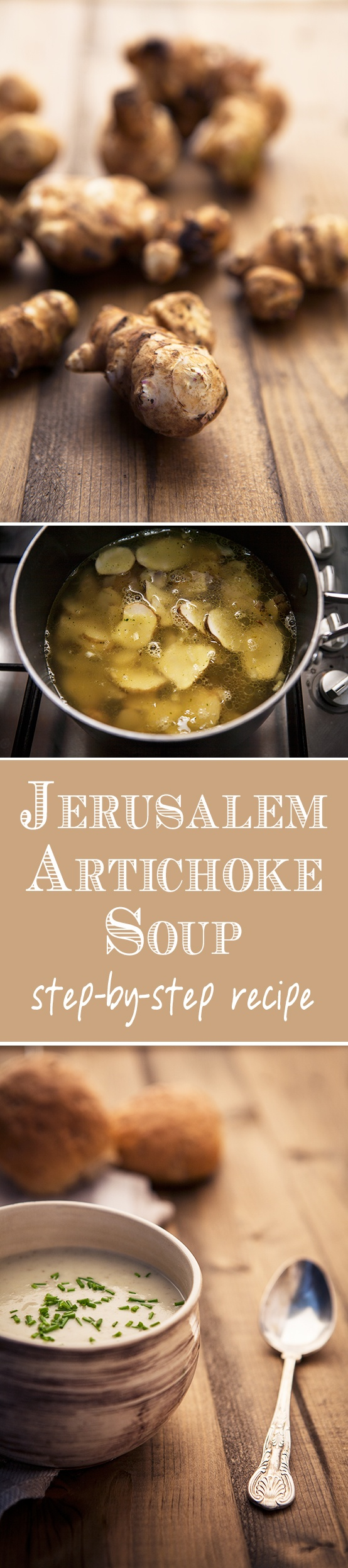 Learn how to cook jerusalem artichoke soup in a few easy steps.  See more at : www.greedygourmet.com