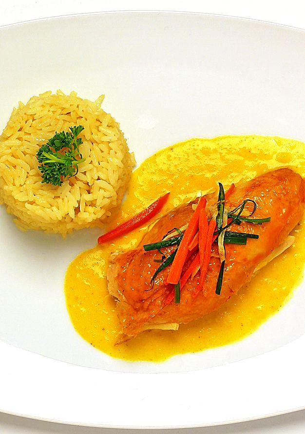 Kycklingfilé med currysås   Recept från Köket.se