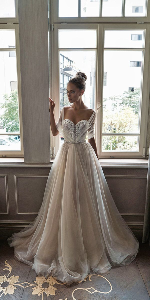 24 Best Of Greek Wedding Dresses For Glamorous Bride ❤ See more: http://www.weddingforward.com/greek-wedding-dresses/ #wedding #greek #dresses