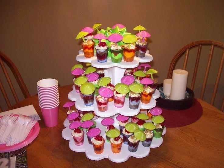 Vodka Jelly Cake Recipe: Birthday Cake Shots