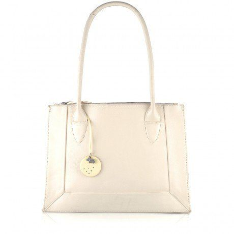 Border, Medium Zip-top Tote