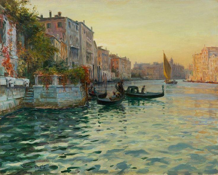 Louis Aston Knight - Venice | 1stdibs.com