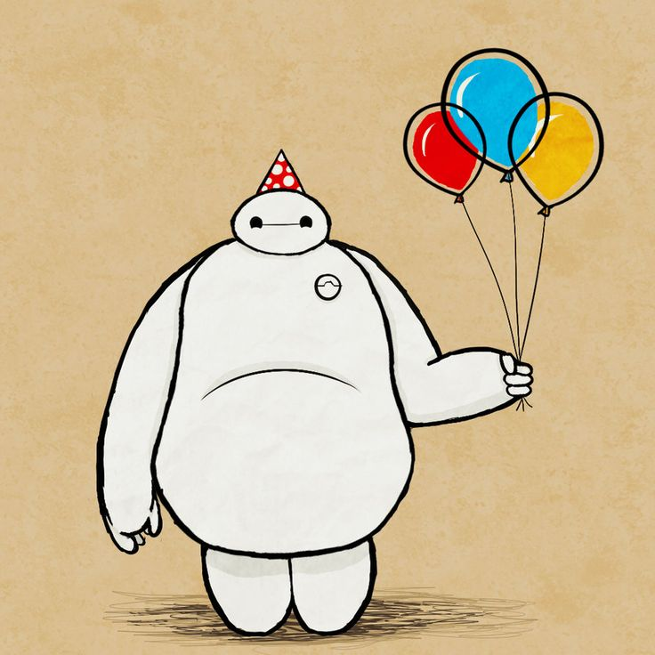 Party Baymax By MintMaker