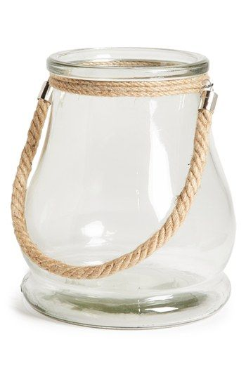 lovely lanterns - would be pretty lining the aisle for a beach/nautical wedding - just add candles...