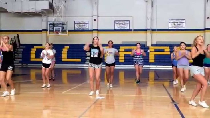 2014 Football Cheer Sidelines - Hey All You Clipper Fans