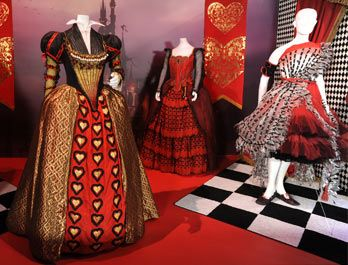 Costumes from Tim Burton's Alice in Wonderland