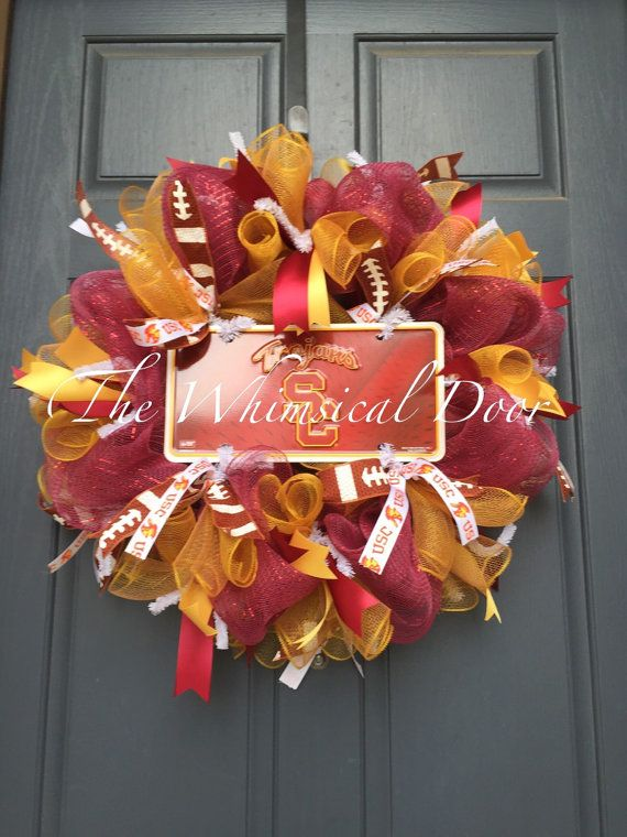 66 best Sports Wreaths images on Pinterest | Sports ...