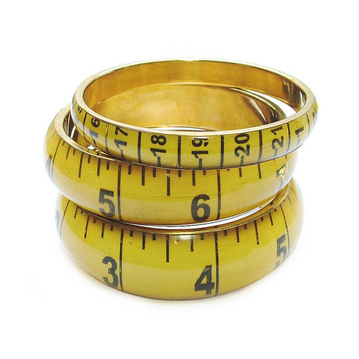 Mustard Tape Measure Bangle Bangles, Love sewing, Sewing