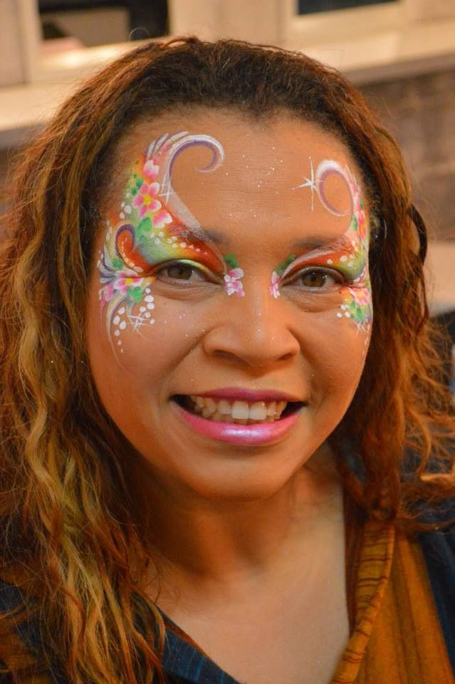 best images about Butterfly face paint on Pinterest Butterfly