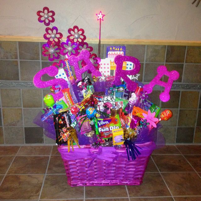 1000 Ideas About Birthday Gift Baskets On Pinterest