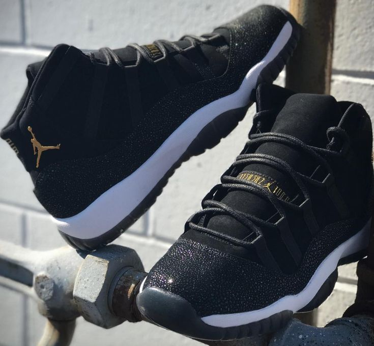 The Air Jordan 11 PRM Heiress Black Stingray is featured in a closer look and it's dropping on November 24th.