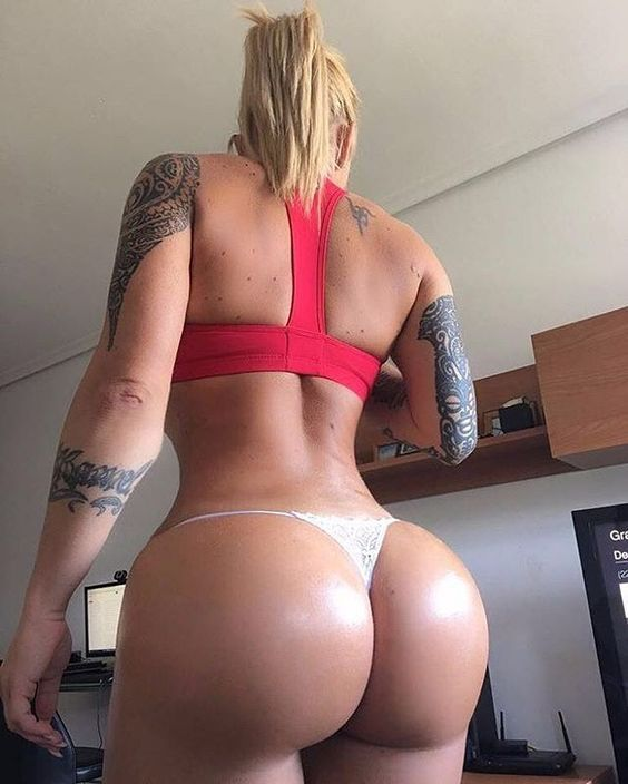 Big fitness ass