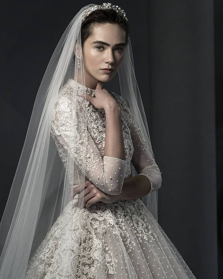 One of our most lavish pieces ss18 Ersa Atelier Euphemia wedding dress is an enchanting display of royal elegance.
