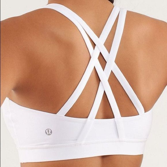 Lululemon Energy Bra Only worn a few times! No pads. The white lululemon tag was itching me so removed that as well. Classic lululemon staple bra. lululemon athletica Intimates & Sleepwear Bras