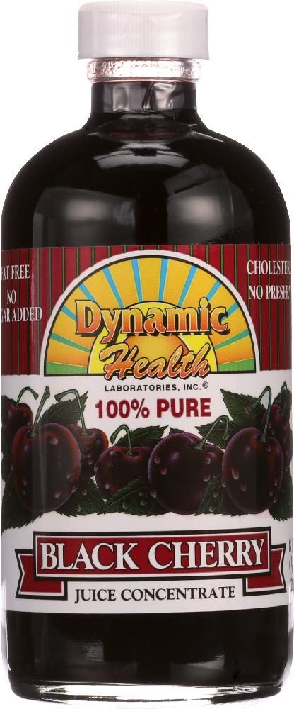 DYNAMIC HEALTH: Black Cherry Juice Concentrate, 8 oz