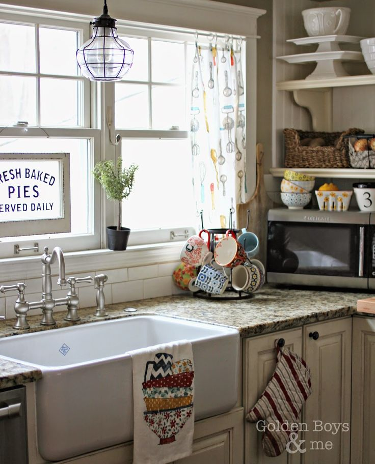 Farmhouse Kitchen Linens: 884 Best Images About Farmhouse Sinks On Pinterest