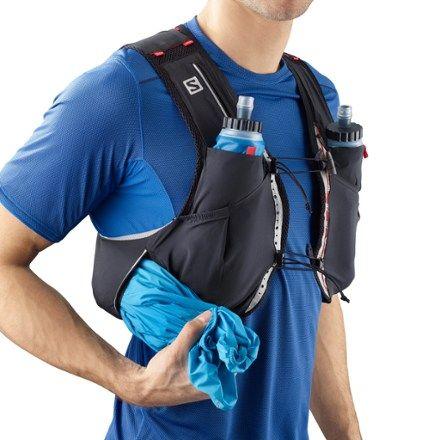 Salomon S-Lab Sense Ultra 5 Set Hydration Vest Black/Racing Red M
