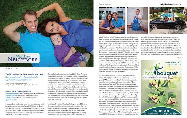 August 2014 issue of Hyde Park Living Magazine. N2 Publishing