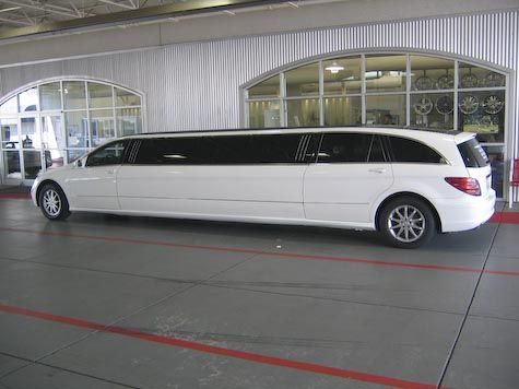 Mercedes R-Class Limo