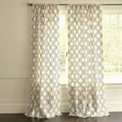 mediterranean curtains by Ballard Designs