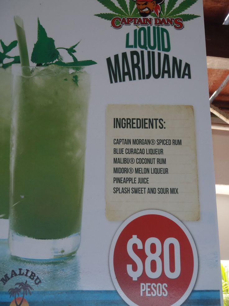 Liquid Marijuana Drink YUMMY!!