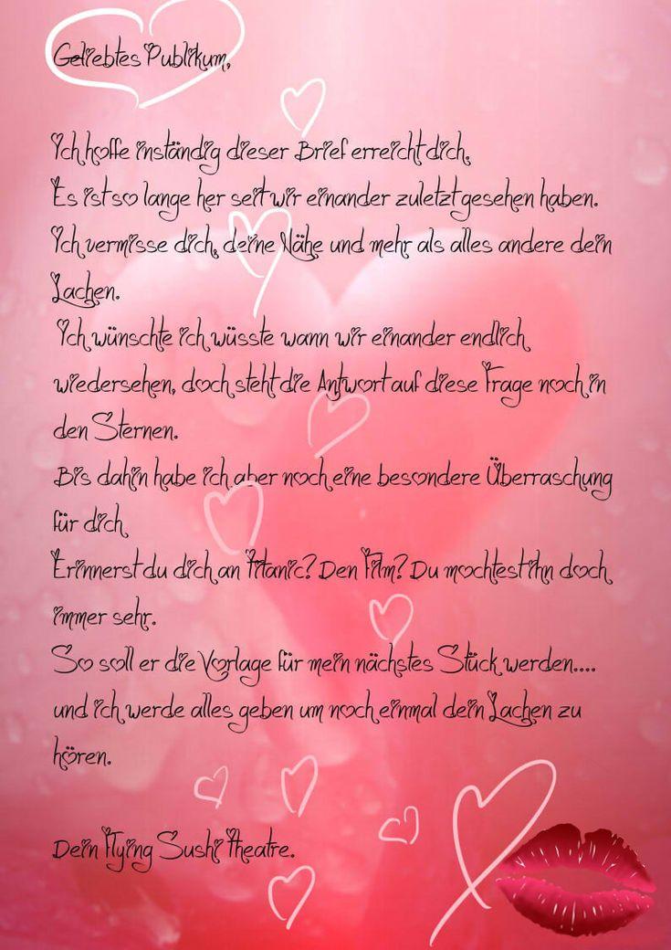 Liebesbrief Zum Valentinstag - Valentines Tag