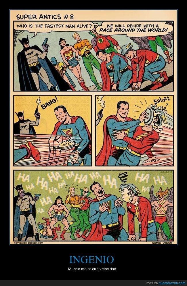 nice Superman es todo un loquillo