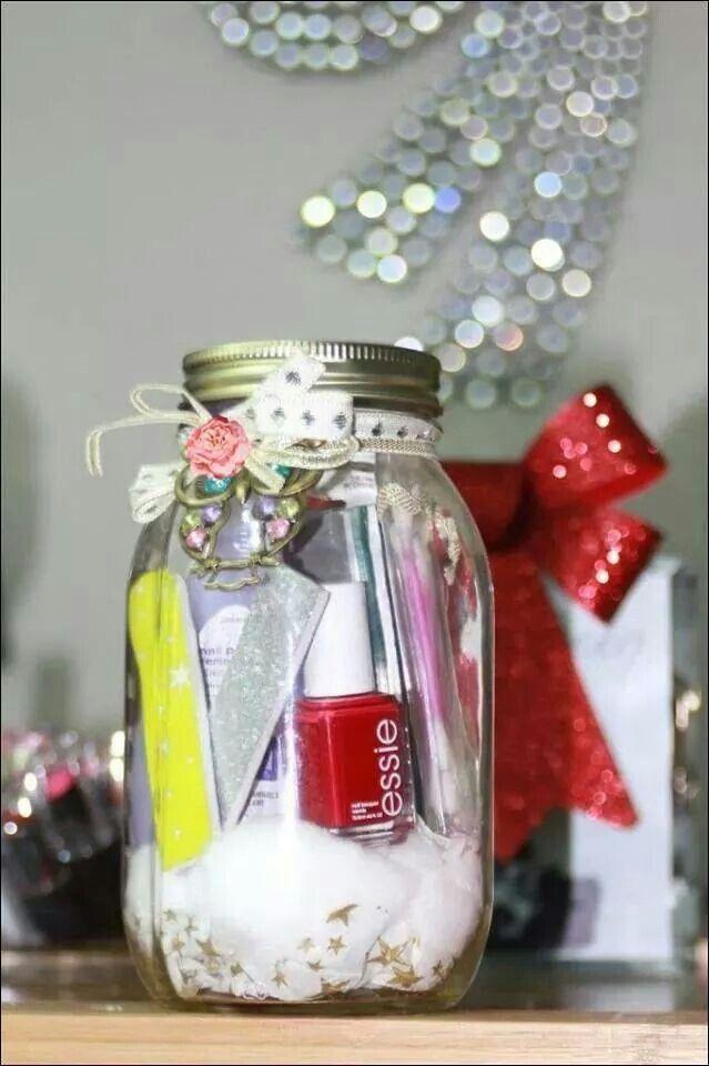 Cadeautje in de glazen potje