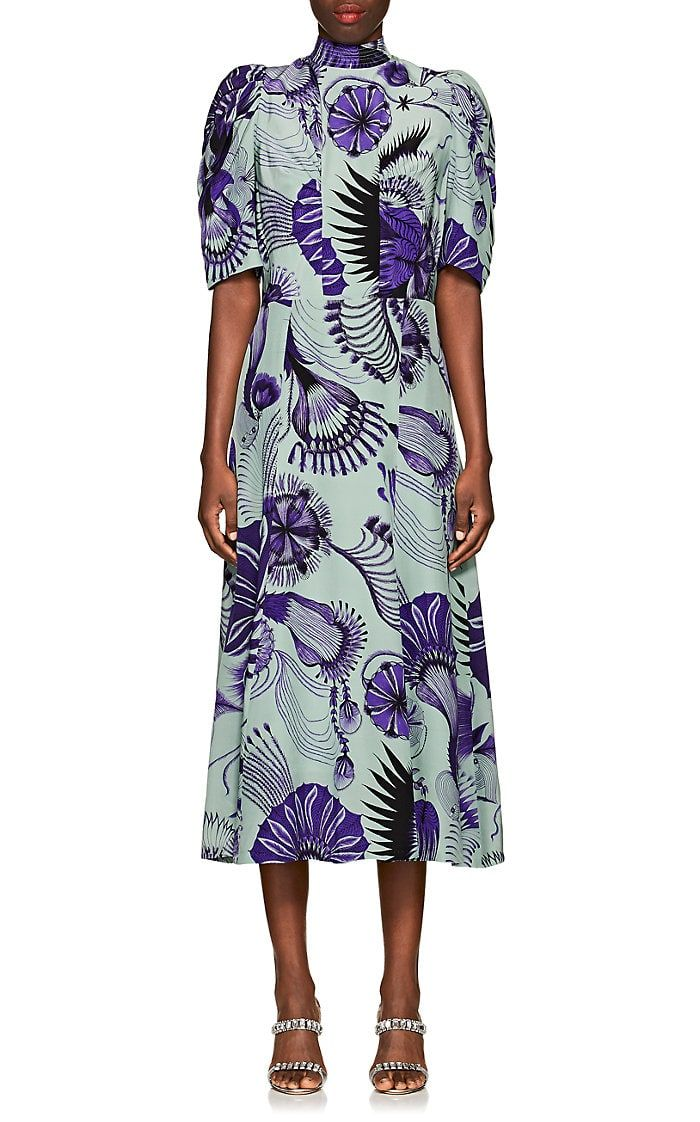 72e8ac0f1a Dries Van Noten Floral Silk Dress