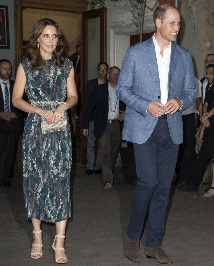 La duquesa Kate llevaba Markus Lupfer y dieron a conocer a Jaqen H'ghar en Berlín