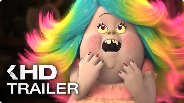 Trolls ALL Trailer & Clips (2016)