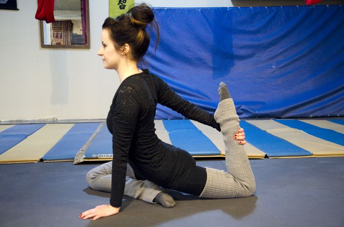Awesome stretching techniques, I already do some of these at home, but this will help.